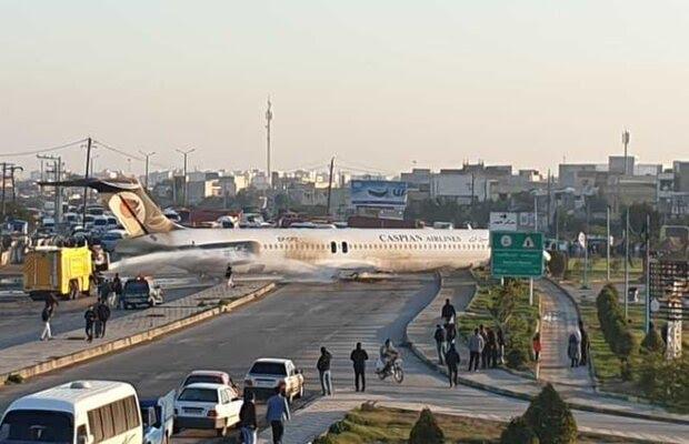 جزئیات حادثه هواپیما در ماهشهر/ خلبان دیر لندینگ کرد.فرودگاه
